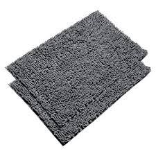 Microfiber Bath Rug Vdomus Absorbent Microfiber Bath Mat Soft Shaggy