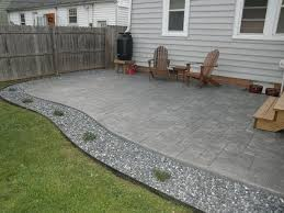 Stamped Concrete Patio Diy Lovely Pouring A Concrete Patio With How To Install A Diy Concrete
