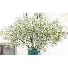 baby s breath flowers artifical babys breath flowers 10 white export lazada singapore