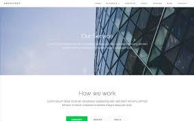 architect creative html5 responsive website template