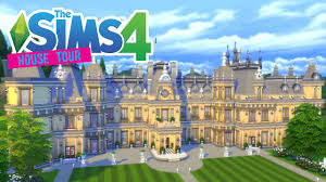 waddesdon manor the sims 4 waddesdon manor house tour youtube