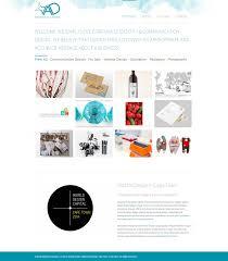 portfolio website build for abundance designs created by danielle
