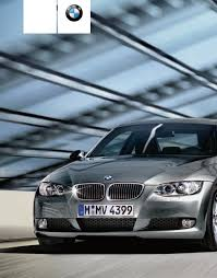 bmw automobile 2008 335i convertible pdf owner u0027s manual free