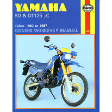 manual haynes for 1989 yamaha rd 125 lc mk 3 2hk rdz125 ebay