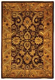 Round Burgundy Rug by Rug Cl244a Classic Area Rugs By Safavieh