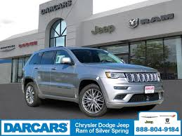 Upholstery Silver Spring Md New 2018 Jeep Grand Cherokee For Sale Silver Spring Md