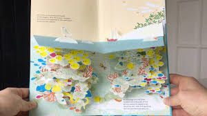 magical pop up book for children