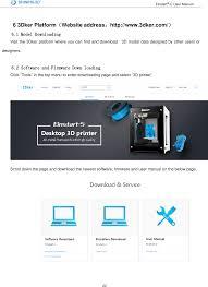 Home Design 3d User Guide by Einstart C 3d Printer User Manual Hangzhou Shining 3d Tech Co Ltd