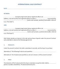 11 free sample sales contract templates u2013 printable samples