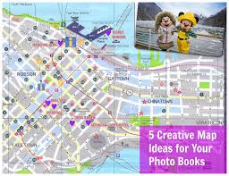 Book Map 5 Creative Map Ideas For Your Photo Books U2013 Photobookgirl Com