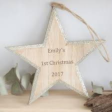 personalised tree decoration my 1st years