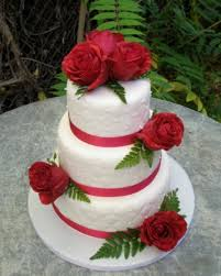 fondant rose wedding cake fabulous cakes pinterest fondant