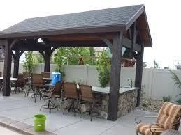 download covered outdoor kitchen garden design