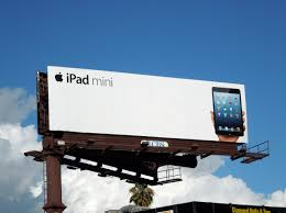 Ikea Outdoor Ad Apple Ipad Mini Billboard Ad Billboards Pinterest Marketing