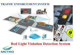 red light traffic violation traffic enforcement system ppt download
