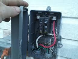 run a 30 amp rv outlet outside non burial doityourself com
