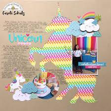 doodlebug design inc blog washi tape challenge unicorn love by
