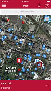 Iowa State Campus Map by Iowa State University Mystate