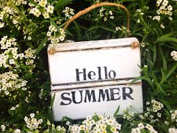 summer sign hello summer summer home decor rustic summer