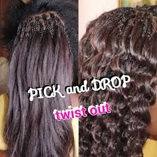 hair extensions for braiding pick and drop how to pick and drop twist out with xpression kanekalon hair