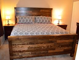 Homemade Wooden Beds Handmade King Size Farmhouse Bed Handmade Furniture Projects