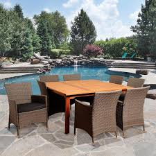 extendable table patio dining furniture patio furniture