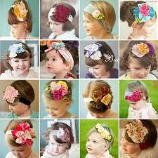 s headbands 60 designs baby girl s elastic headbands floral bow headband kids