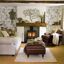 bedroom with brown wallpaper decorating room ideas general 15 relaxing brown and tan living room designs home design lover