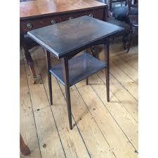 fold away end table edwardian oak card table