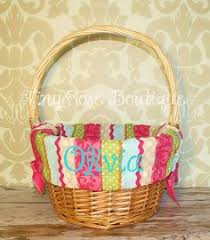 easter basket liners personalized personalized easter basket liner royal blue chevron basket liners