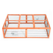 Rabbit Hutches And Runs Pawhut Wooden Rabbit Hutch Poultry Cage Aosom Ca