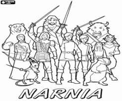 Coloriage Le Monde de Narnia à imprimer