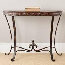 safavieh sema oak console table amh6639c the home depot