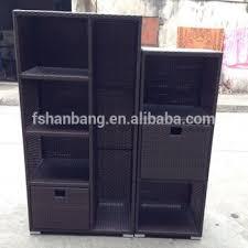 outdoor resin storage cabinets waterproof resin wicker patio home garden outdoor rattan storage