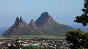 Table Top Mountain by Traffic At Tabletop Mountain In Cape Town South Africa In The