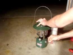 lighting a coleman lantern how i light a coleman lantern youtube