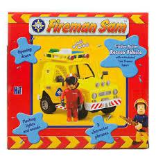 fireman sam friction venus rescue vehicle car jeep u0026 tom figure