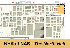 Nab Floor Plan Nhk To Make 8k Broadcast History At Nab 2014 The Beat A Blog By