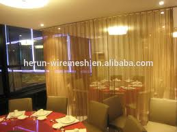 Curtain Wire Room Divider Modern Decor Restaurant Curtain Room Dividers Modern Decor