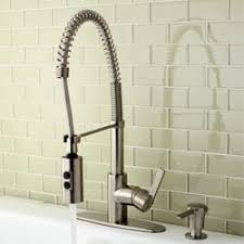 spiral kitchen faucet concord modern satin nickel spiral pull kitchen faucet free