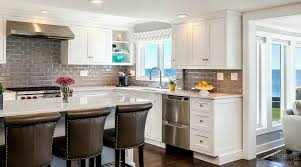 featured kitchen a light bright beach house cottage kitchen in ct