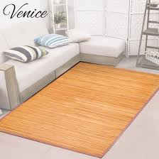 5 By 8 Area Rugs Venice Bamboo 5 X 8 Floor Mat Bamboo Area Rug Indoor
