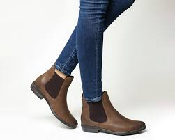 womens chelsea boots uk office dallas 2 chelsea boots brown leather ankle boots