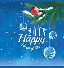 new year greeting cards images 2018 happy new year greeting card royalty free vector image