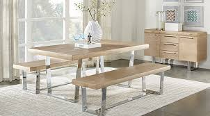 Sofa For Dining Table by Cindy Crawford Collection Dining Room Sets