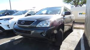 lexus rx hybrid used 2006 used lexus rx 400h 4dr hybrid suv at mercedes of