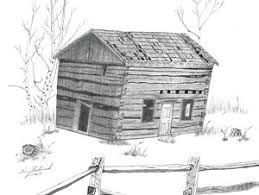 log cabin drawings old log cabin drawings fine art america