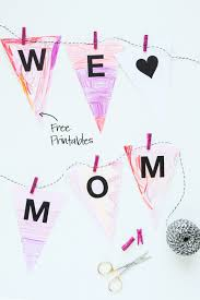 heart mom coloring banner paging supermom