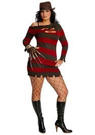freddy krueger costume plus size miss krueger costume