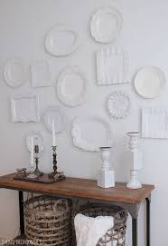 seize the whims random act of hanging plates the the plate wall the inspired room